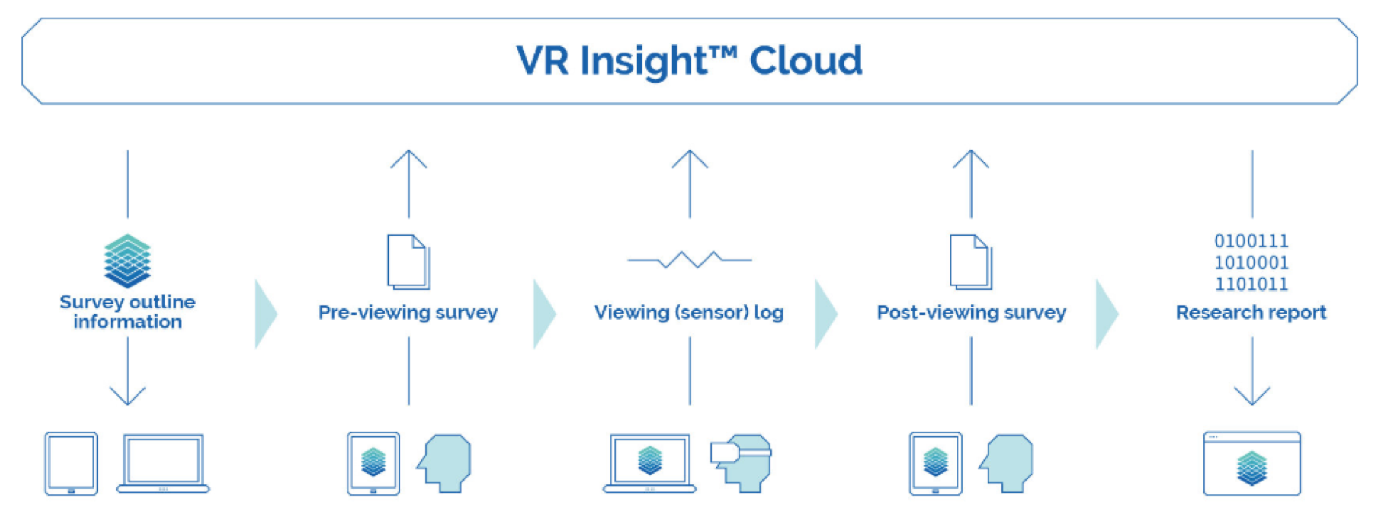 VR Insight Cloud Diagram
