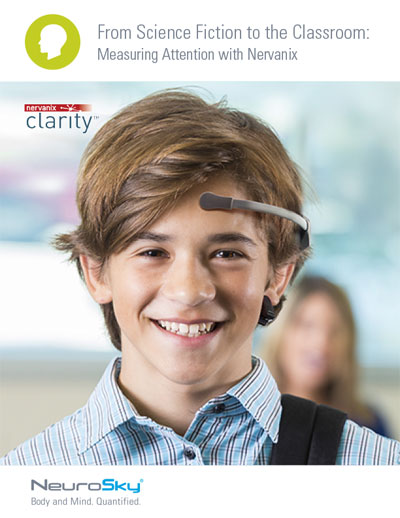 Download the Success Story From Science Fiction to the Classroom: Measuring Attention with Nervanix image
