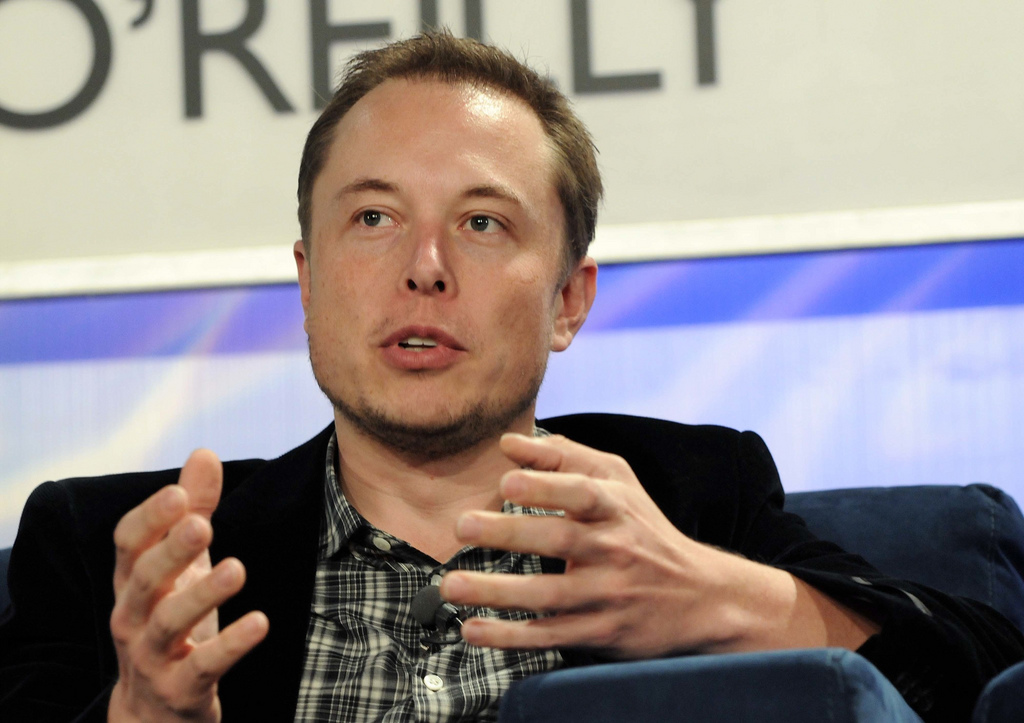 Elon Musk, co-founder of PayPal, founder of SpaceX, Tesla Motors and Neuralink. (CC) JD Lasica